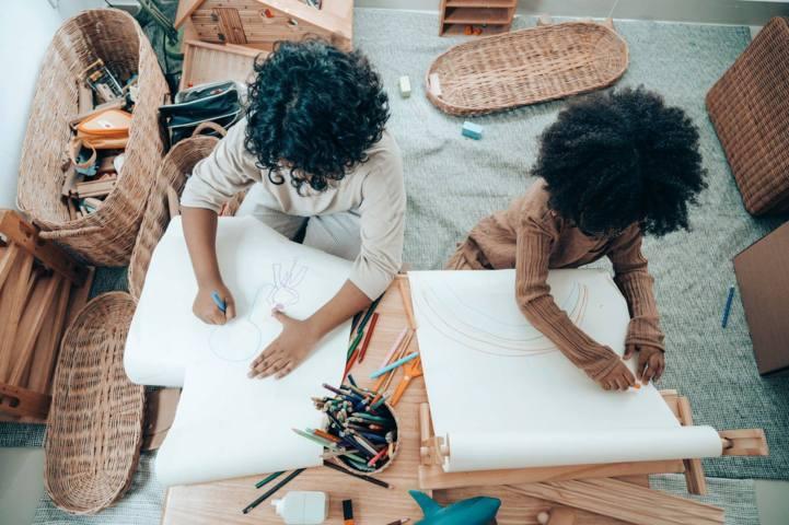 bambini creativi